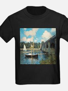 The Bridge at Argenteuil by Monet T-Shirt