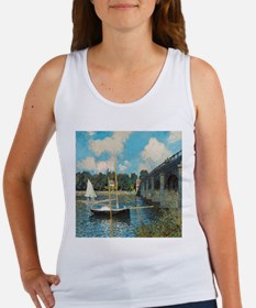 The Bridge at Argenteuil by Monet Tank Top
