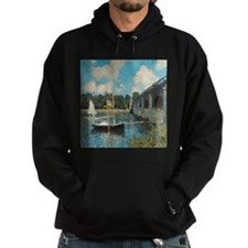 The Bridge at Argenteuil by Monet Hoodie