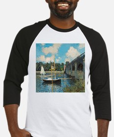The Bridge at Argenteuil by Monet Baseball Jersey
