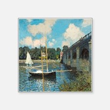 The Bridge at Argenteuil by Monet Sticker