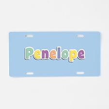 Penelope Spring14 Aluminum License Plate