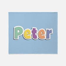 Peter Spring14 Throw Blanket
