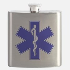 Throw Pillow Star of Life.png Flask