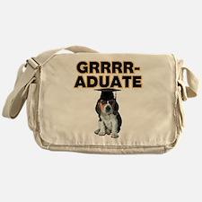 Graduation Beagle Puppy Messenger Bag