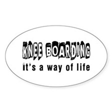 Knee Boarding it is a way of life Decal
