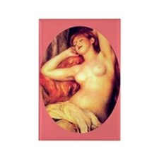 RENOIR NUDE WOMAN Rectangle Magnet