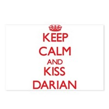 Keep Calm and Kiss Darian Postcards (Package of 8)