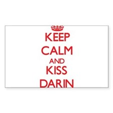 Keep Calm and Kiss Darin Decal