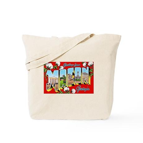 Macon Georgia Greetings Tote Bag