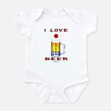 Japanese Beer Infant Bodysuit