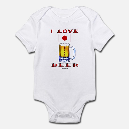Japanese Beer Infant Bodysuit