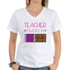 Teacher Powered By Chocolat Shirt