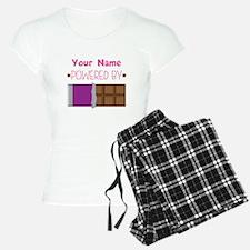 Chocolate Lover personalize Pajamas