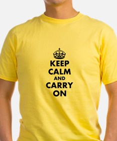 Keep calm and carry on | Personalized T-Shirt