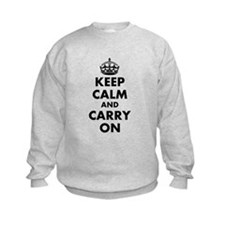 Keep calm and carry on | Personalized Sweatshirt
