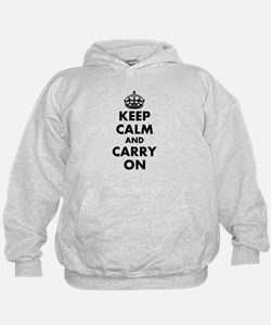 Keep calm and carry on | Personalized Hoodie