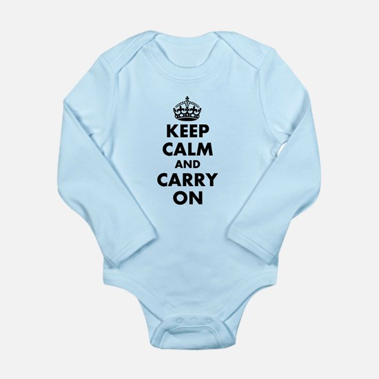 Keep calm and carry on | Personalized Body Suit
