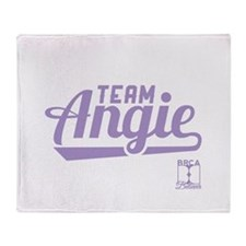 Team Angie Throw Blanket