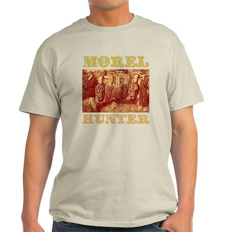 morel mushroom hunter gifts Light T-Shirt