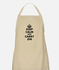 Keep Calm And Carry On | Personalized Bbq Apron