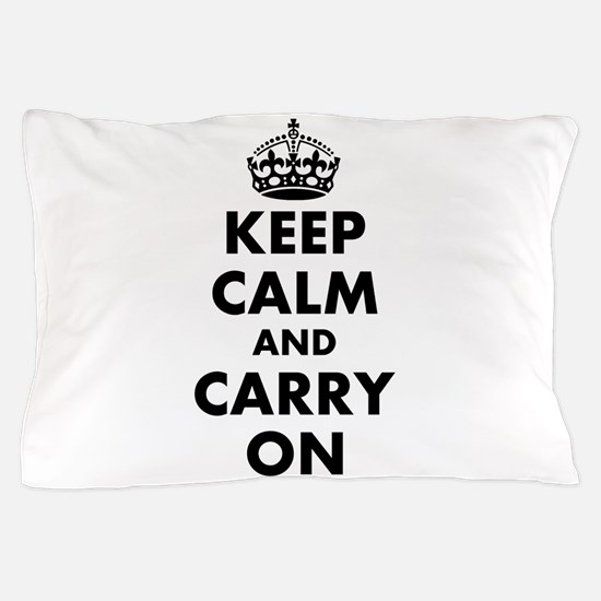 Keep calm and carry on | Personalized Pillow Case