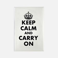 Keep calm and carry on | Personalized Magnets