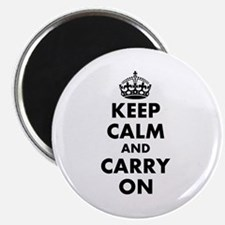 Keep calm and carry on   Personalized Magnets