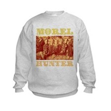 morel mushroom hunter gifts Sweatshirt