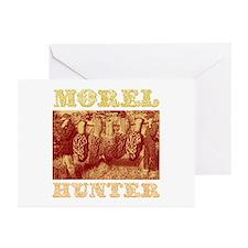 morel mushroom hunter gifts Greeting Cards (Packag