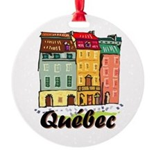 Quebec city Ornament