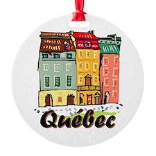 Quebec city Ornament