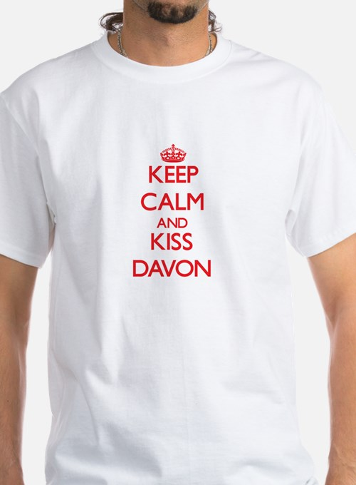 Keep Calm and Kiss Davon T-Shirt