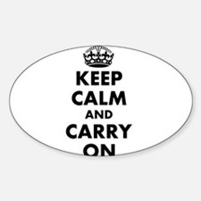 Keep calm and carry on | Personalized Decal