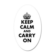 Keep Calm And Carry On | Wall Sticker
