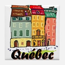 Quebec City Tile Coaster