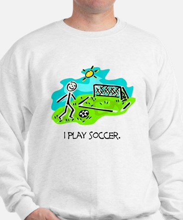 Soccer Stick Figure Sweatshirt