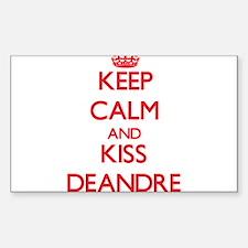 Keep Calm and Kiss Deandre Decal