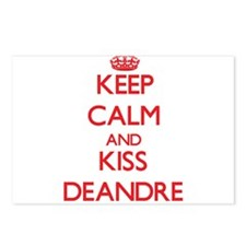 Keep Calm and Kiss Deandre Postcards (Package of 8