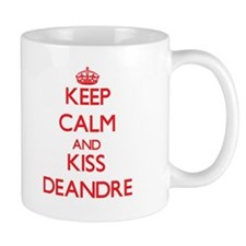 Keep Calm and Kiss Deandre Mugs
