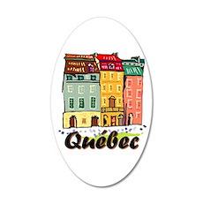 Quebec City Sticker Wall Decal