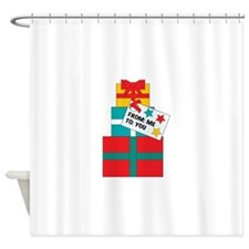 From Me To You Shower Curtain