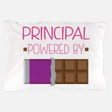 Principal Powered by Chocolate Pillow Case