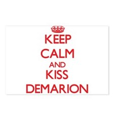 Keep Calm and Kiss Demarion Postcards (Package of