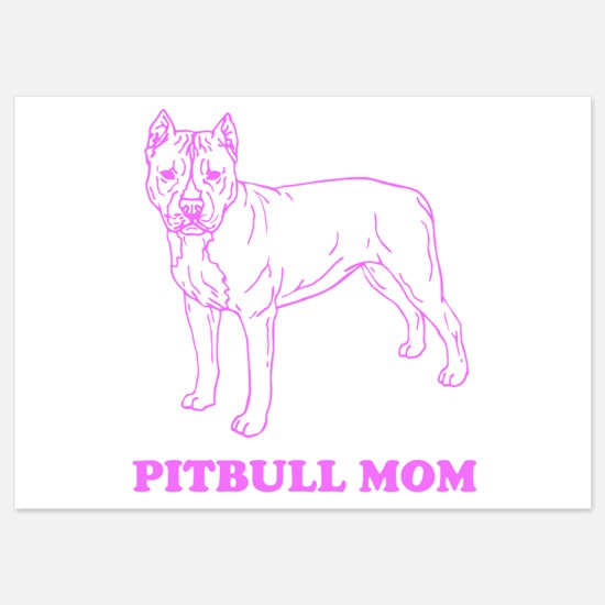 Pitbull Mom Invitations