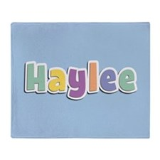 Haylee Spring14 Throw Blanket