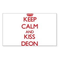Keep Calm and Kiss Deon Decal