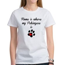 Home Is Where My Pekingese Is T-Shirt