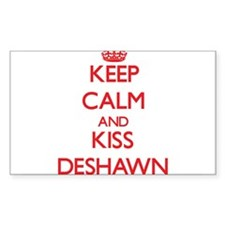Keep Calm and Kiss Deshawn Decal