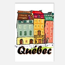 Quebec City Postcards (package Of 8)